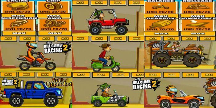 Hill Climb Racing 2 apk mod