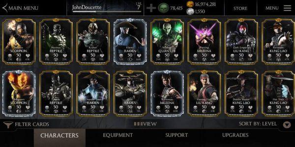 Mortal Kombat Mod Apk Menu V2 7 1 Download For Android