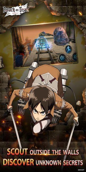 Attack on Titan games mode