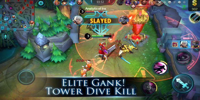 Mobile Legend Bang Bang moba gameplay