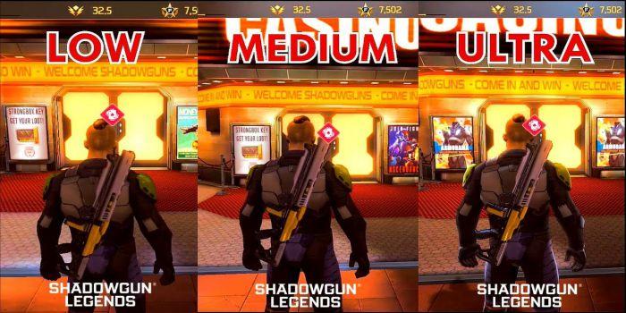 Shadowgun Legends the graphics