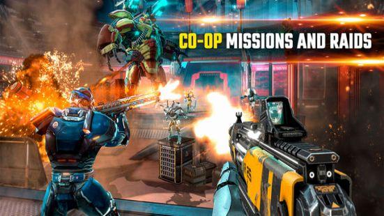 Shadowgun Legends co-op mission