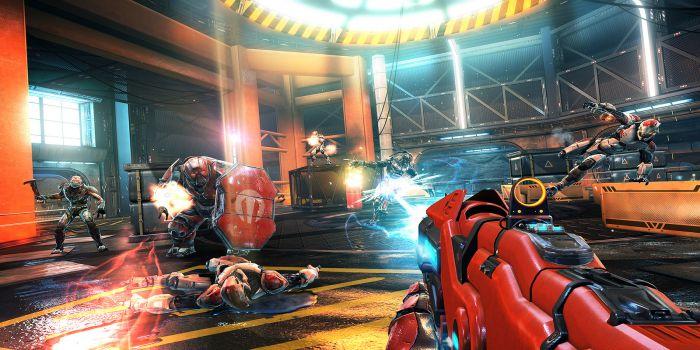 Shadowgun Legends gameplay