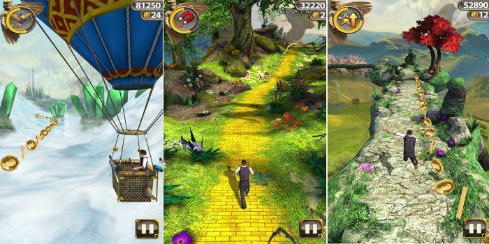 Temple Run 2 graphics