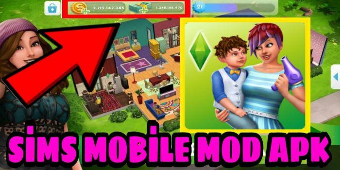 The Sims Mobile apk mod cash