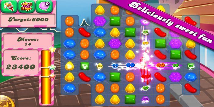 Candy Crush Saga the gameplay