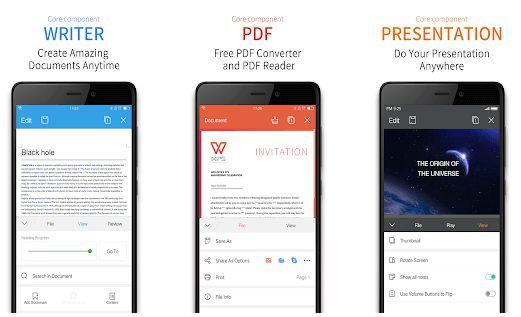 WPS Office Premium best app android