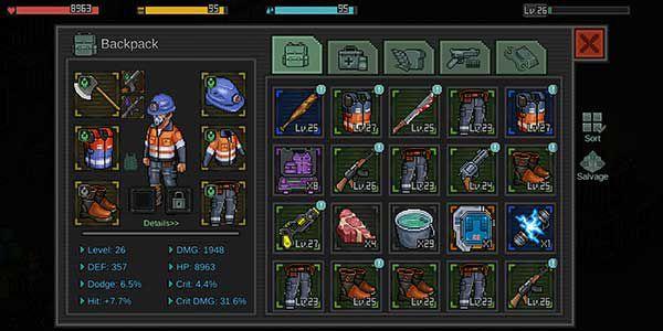 Fury Survivor: The Pixel Z game apk
