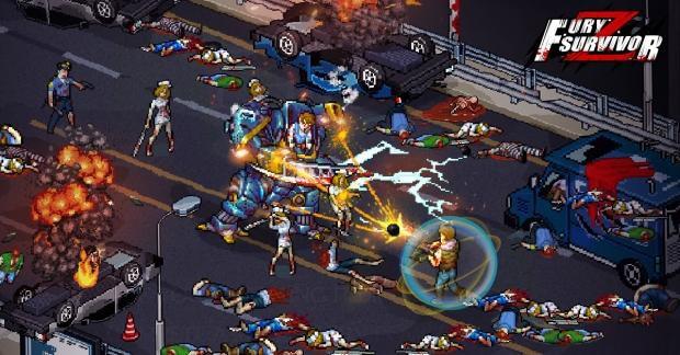 Fury Survivor: The Pixel Z best game apk