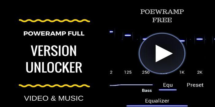 Poweramp Full Version Unlocker apk mod