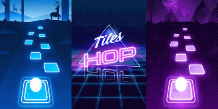Tiles Hop EDM Rush game apk