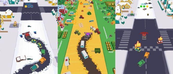 Clean Road game apk
