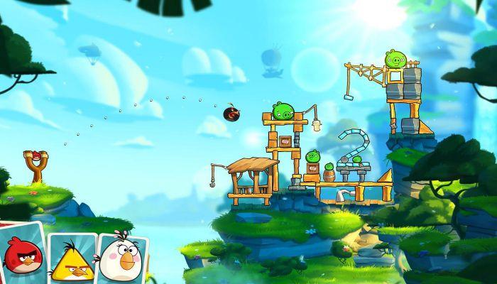 Angry Bird 2 apk mod gameplay