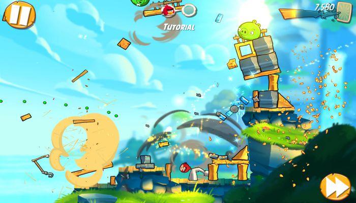 Angry Bird 2 apk mod graphics