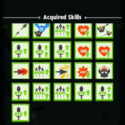 Archero mod apk skills