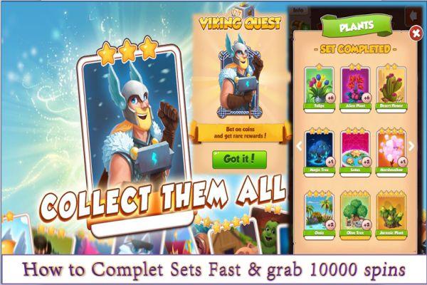 Coins Master mod apk collect