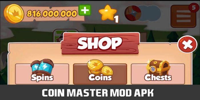 Coins Master mod apk