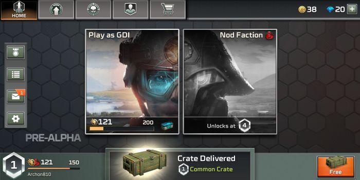 Command & Conquer apk mod military
