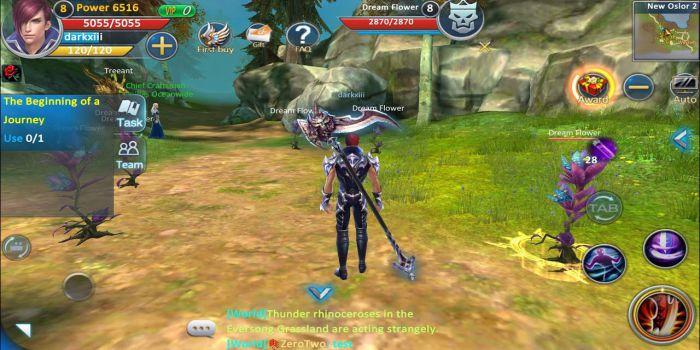 Forsaken World Mobile gameplay