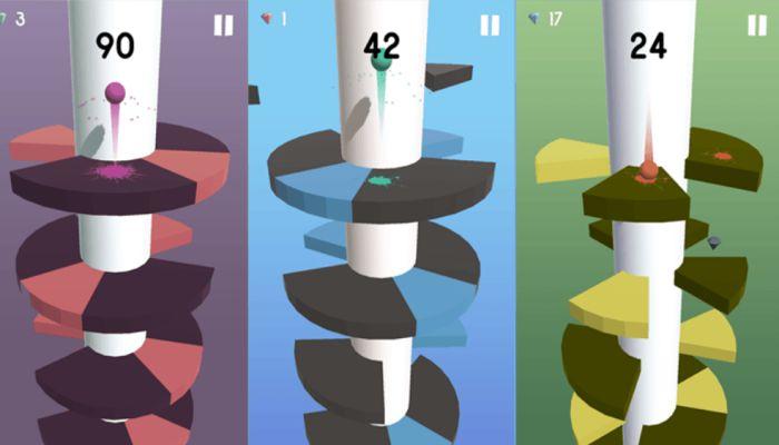 Helix Jump apk mod gameplay