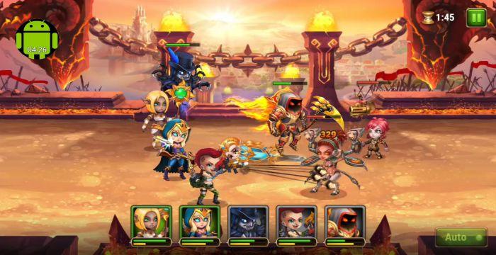 Hero Wars apk mod gameplay