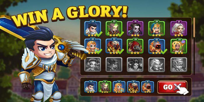 Hero Wars apk mod shop