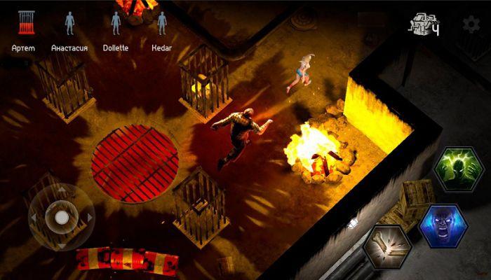 Horrorfield apk gameplay