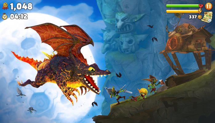 Hungry Dragon apk mod fly