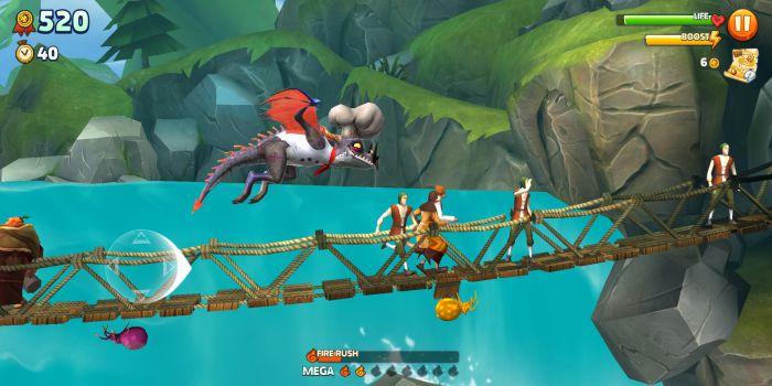 Hungry Dragon apk mod gameplay