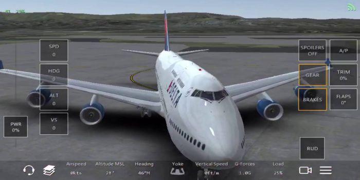 Infinite Flight apk gameplay