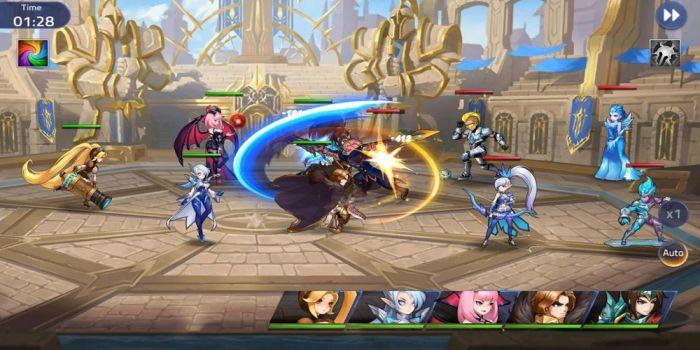Mobile Legends: Adventure mod apk gameplay