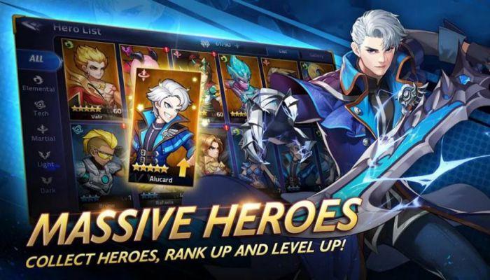 Mobile Legends: Adventure mod apk character