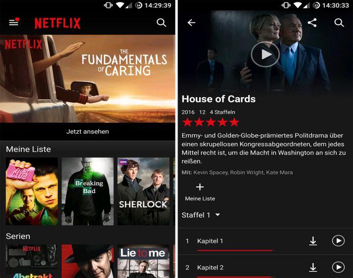 Netflix apk smart download