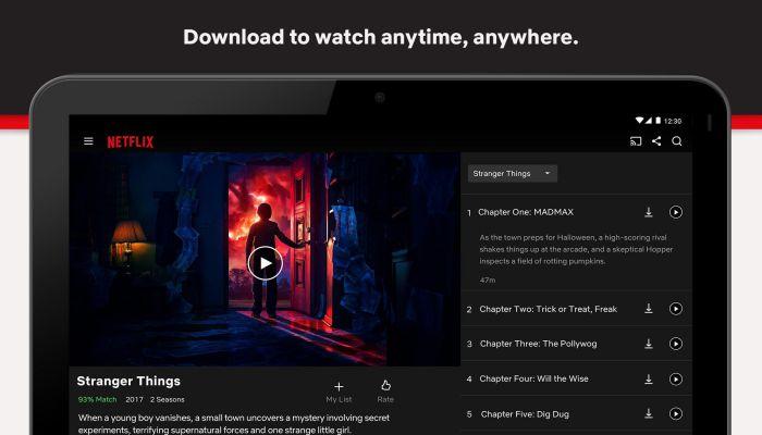 Netflix apk watch movies