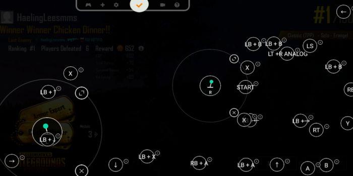 Panda Gamepad Pro apk controls
