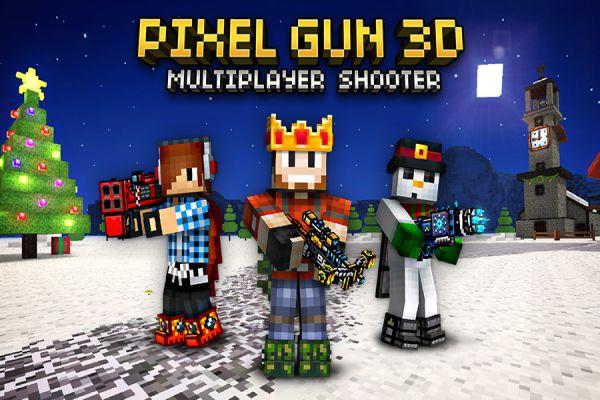 Pixel Gun 3D apk mod multiplayer