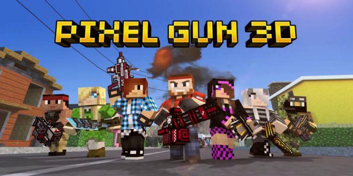 Pixel Gun 3D apk