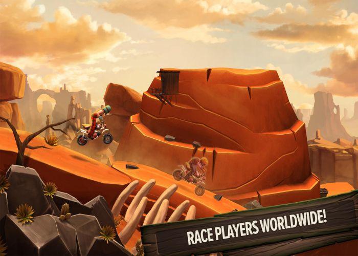 Trials Frontier mod apk graphics