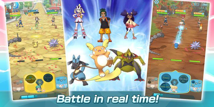Pokémon Masters apk battle