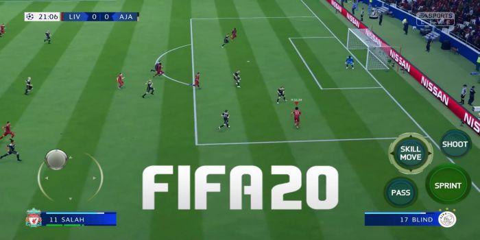 FIFA Mobile 2020 BETA apk controls