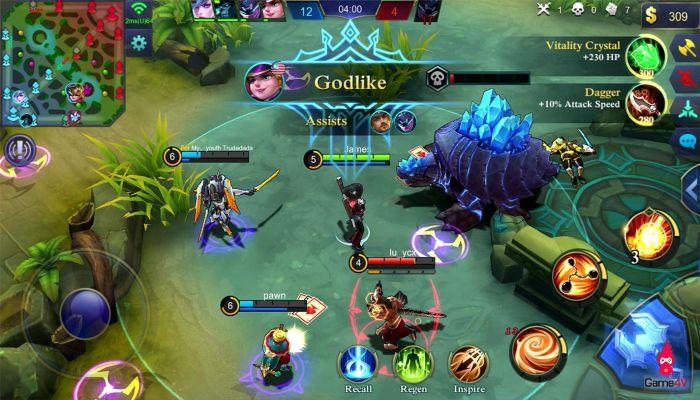 Top android moba game Mobile Legends Bang Bang