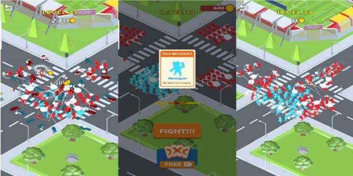 Gang Clash APK MOD gameplay