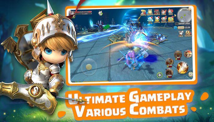 Lumia Saga apk gameplay