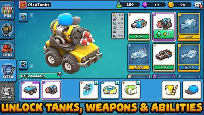 Pico Tanks apk mod unlock download