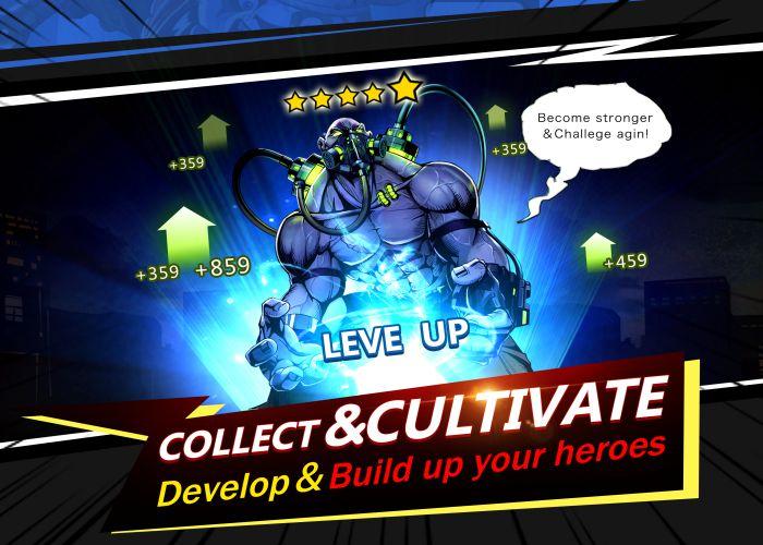 X-Hero-Avengers Arena apk mod character download