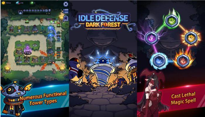 Idle Defense Dark Forest apk mod content download