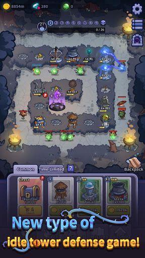 Idle Defense Dark Forest apk mod gameplay download