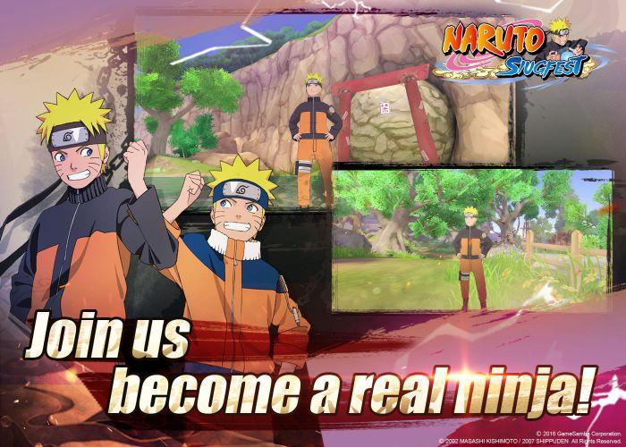 Naruto-Slugfes apk content download