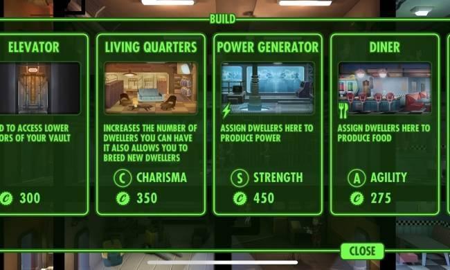 Fallout Shelter bắt đầu chậm