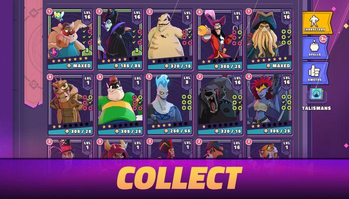 Disney Sorcerer's Arena mod apk character download